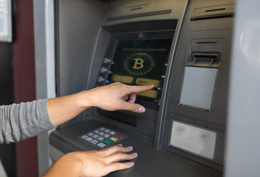 bitcoin atm machine used to withdraw