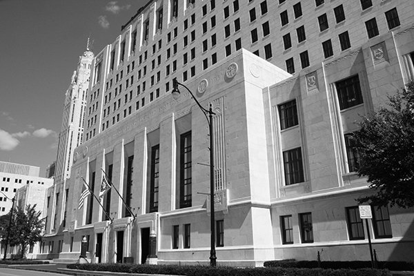 Columbus Ohio Federal Attorney picture of Supreme Court in Columbus for hearing Federal cases prosecuted by the US Government and deciding civil cases